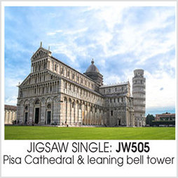 Jigsaw IT Pisa Cathedral  leaning bell tower