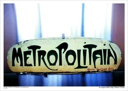 An original Metro Sign, Musee d'Orsay
