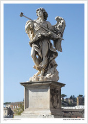 Angel of the Ponte Sant'Angelo, Italy