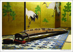 A Koto, Japanese instrument